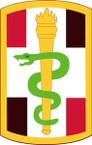 STICKER US ARMY UNIT 330th Medical Brigade SHIELD