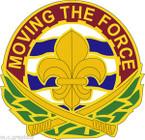 STICKER US ARMY UNIT 318th Transportation Agency
