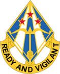 STICKER US ARMY UNIT 31 AIR DEFENSE ARTILLERY BRIGADE