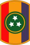 STICKER US ARMY UNIT 30th Armor Brigade SHIELD