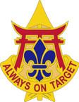 STICKER US ARMY UNIT 30th Air Defense Artillery Brigade