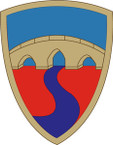 STICKER US ARMY UNIT 304th Sustainment Brigade SHIELD
