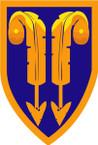 STICKER US ARMY UNIT 2nd Support Brigade SHIELD