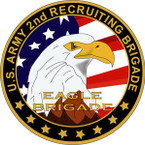 STICKER US ARMY UNIT 2nd Recruiting Brigade