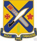 STICKER US ARMY UNIT 2ND INFANTRY REGIMENT SHIELD