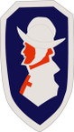STICKER US ARMY UNIT 295th Regimental Combat Team SHIELD