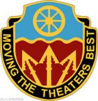 STICKER US ARMY UNIT 272nd Transportation Battalion
