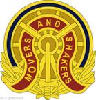 STICKER US ARMY UNIT 257th Transportation Battalion