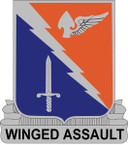 STICKER US ARMY UNIT 229th Aviation Regiment CREST