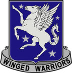 STICKER US ARMY UNIT 228th Aviation Regiment CREST
