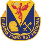 STICKER US ARMY UNIT 206TH Chemical Battalion