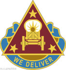 STICKER US ARMY UNIT 190th Transportation Battalion