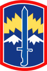 STICKER US ARMY UNIT 171st Infantry Brigade SHIELD