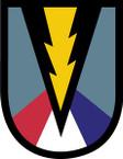 STICKER US ARMY UNIT 165 Infantry Brigade SHIELD