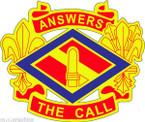 STICKER US ARMY UNIT 142nd Field Artillery Brigade
