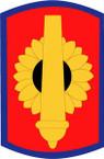 STICKER US ARMY UNIT 130th Field Artillery Brigade SHIELD