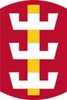 STICKER US ARMY UNIT 130th Engineer Brigade SHIELD