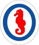 STICKER US ARMY UNIT 12th Engineer Special Brigades SHIELD