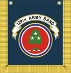STICKER US ARMY UNIT 129th Army Band