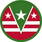 STICKER US ARMY UNIT 124th Regional Support Command SHIELD