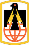 STICKER US ARMY UNIT 11th Signal Brigade SHIELD