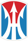 STICKER US ARMY UNIT 11th Infantry Brigade SHIELD