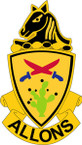 STICKER US ARMY UNIT 11TH ARMORED CAVALRY  REGIMENT CREST