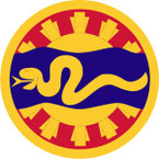 STICKER US ARMY UNIT 116th Cavalry Brigade SHIELD