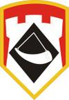 STICKER US ARMY UNIT 111th Engineer Brigade SHIELD