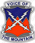 STICKER US ARMY UNIT 10TH SIGNAL BATTALION