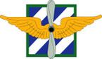 STICKER US ARMY UNIT  Combat Aviation Brigade - 3rd Infantry Division