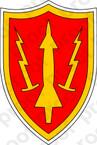 STICKER US ARMY UNIT Air Defense Command SSI