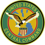 STICKER US ARMY UNIT  Central Command