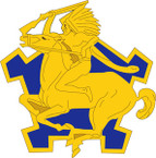 STICKER US ARMY UNIT  9th Cavalry Regiment