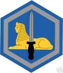 STICKER US ARMY UNIT  66th Military Intelligence