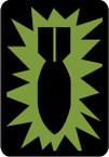 STICKER US ARMY UNIT  52nd Ordnance Group SUB
