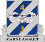 STICKER US ARMY UNIT  4rd Battalion (Assault), 3rd Aviation Regiment
