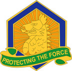 STICKER US ARMY UNIT  455th Chemical Brigade