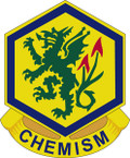 STICKER US ARMY UNIT  415TH Chemical Brigade