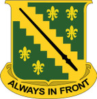 STICKER US ARMY UNIT  38th Cavalry Regiment