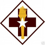 STICKER US ARMY UNIT  32nd Medical Brigade COL