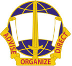 STICKER US ARMY UNIT  308th Civil Affairs Brigade Crest