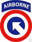 STICKER US ARMY UNIT  18th Airborne Combat Support