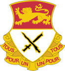 STICKER US ARMY UNIT  15th Cavalry Regiment