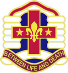 STICKER US ARMY UNIT  114th Combat Support Hospital