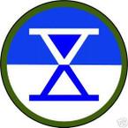 STICKER US ARMY UNIT  10th Corps COL