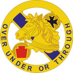 STICKER US ARMY UNIT  104th Cavalry Regiment