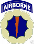 STICKER US ARMY UNIT   9th Airborne Div. COLORL