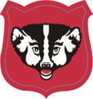 STICKER US ARMY NATIONAL GUARD Wisconsin