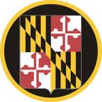 STICKER US ARMY NATIONAL GUARD Maryland II
